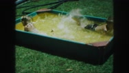 1958: a pool is seen AMES, IOWA Stock Footage