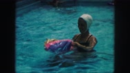 1958: a swimming scene AMES, IOWA Stock Footage