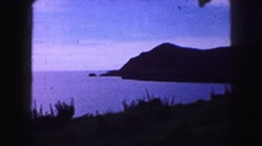 1958: peaceful getaway on romantic isle far but close to the main attraction Stock Footage