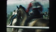 1958: horses are seen running AMES, IOWA Stock Footage