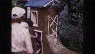 1958: a child is seen AMES, IOWA Stock Footage