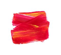 Red vector watercolor paint stain Stock Illustration