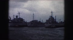 1958: ships are seen AMES, IOWA Stock Footage