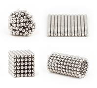 Composition from magnetic metal balls, from chaos to ideal shape. Kuvituskuvat