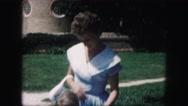 1958: a bride is seen walking AMES, IOWA Stock Footage
