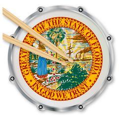 Florida Snare Drum Stock Illustration