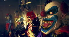 Halloween party horror clowns. Arkistovideo
