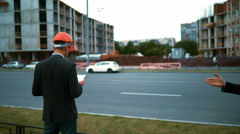 Unhappy customers discontent of architect project Stock Footage