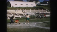 1958: a baseball game is seen AMES, IOWA Stock Footage