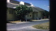 1958: a residential area is seen AMES, IOWA Stock Footage