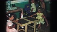 1958: children playing AMES, IOWA Stock Footage