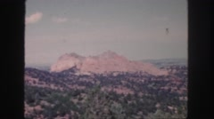 1958: abandoned areas of the earth is very natural  Stock Footage