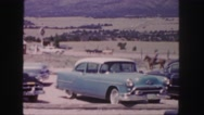 1958: a horse is seen with a rider COLORADO Stock Footage