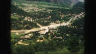 1958: a view from an aircraft is seen COLORADO Stock Footage