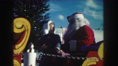 1958: the season that christian come to honour the birthday of our lord  Stock Footage