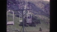 1958: a cable car is seen COLORADO Stock Footage