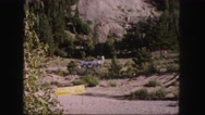 1958: a forest area is seen COLORADO Stock Footage