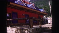 1958: a restaurant is seen COLORADO Stock Footage