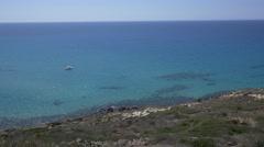 San Giovanni di Sinis, Sardinia. Stock Footage