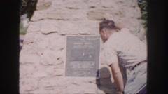 1958: a tourist area is seen COLORADO Stock Footage