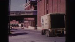 1958: a industry area COLORADO Stock Footage