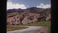 1958: a hilly area is seen with trees and greenery COLORADO Stock Footage