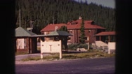 1958: a residential area is seen COLORADO Stock Footage