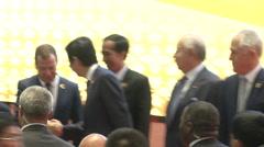 Asean Leaders Stock Footage