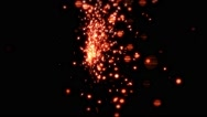 Red Sparks In Slow-Mo - 9 Stock Footage