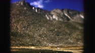 1958: a scenic mountain with snow glacier COLORADO Stock Footage