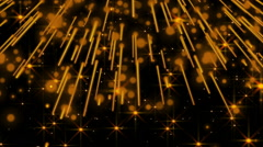 Gold background. Loop Stock Footage