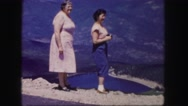 1958: a woman is seen posing COLORADO Stock Footage