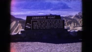 1957: a mountain area is seen traveling by road DEATH VALLEY, CALIFORNIA Stock Footage