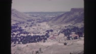 1958: car is moving along the serpentine road around the hill COLORADO Stock Footage