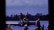 1958: a swimming scene NEW YORK CITY Stock Footage