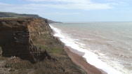 Blackgang Chine Isle of Wight Stock Footage