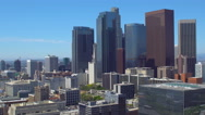 Skyscrapers in Downtown Los Angeels Stock Footage
