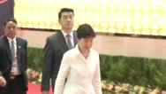 Park Geun-hye Stock Footage