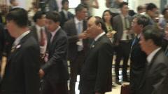 Nguyễn Xuân Phúc Vietnam Stock Footage