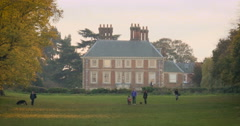 Forty Hall, Enfield, London; zoom in Stock Footage
