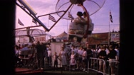 1963: an amusement park DEVILS LAKE, WISCONSIN Stock Footage