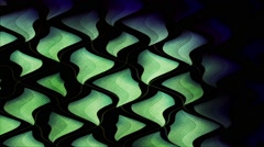 Liquid Triangle Wave Vj Loop Stock Footage