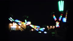 1963: an amusement park WALWORTH, WISCONSIN Stock Footage