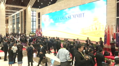 Association of Southeast Asian Nations (ASEAN) Summit Stock Footage