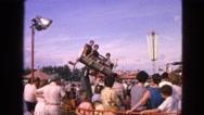 1963: an amusement park WALWORTH, WISCONSIN Stock Footage