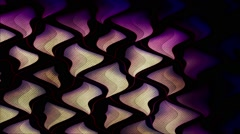 Liquid Triangles Wave Vj Loop Stock Footage