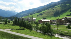 Visiting gerlos valley in Tyrol (Austria) Stock Footage
