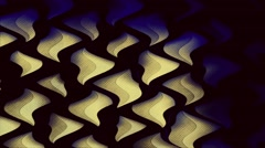 Liquid Wave Triangle Vj Loops Stock Footage