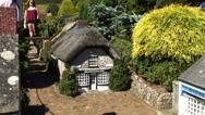 Godshill Model village Isle of Wight Stock Footage