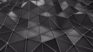 Plexus Carbon Dark Stock Footage